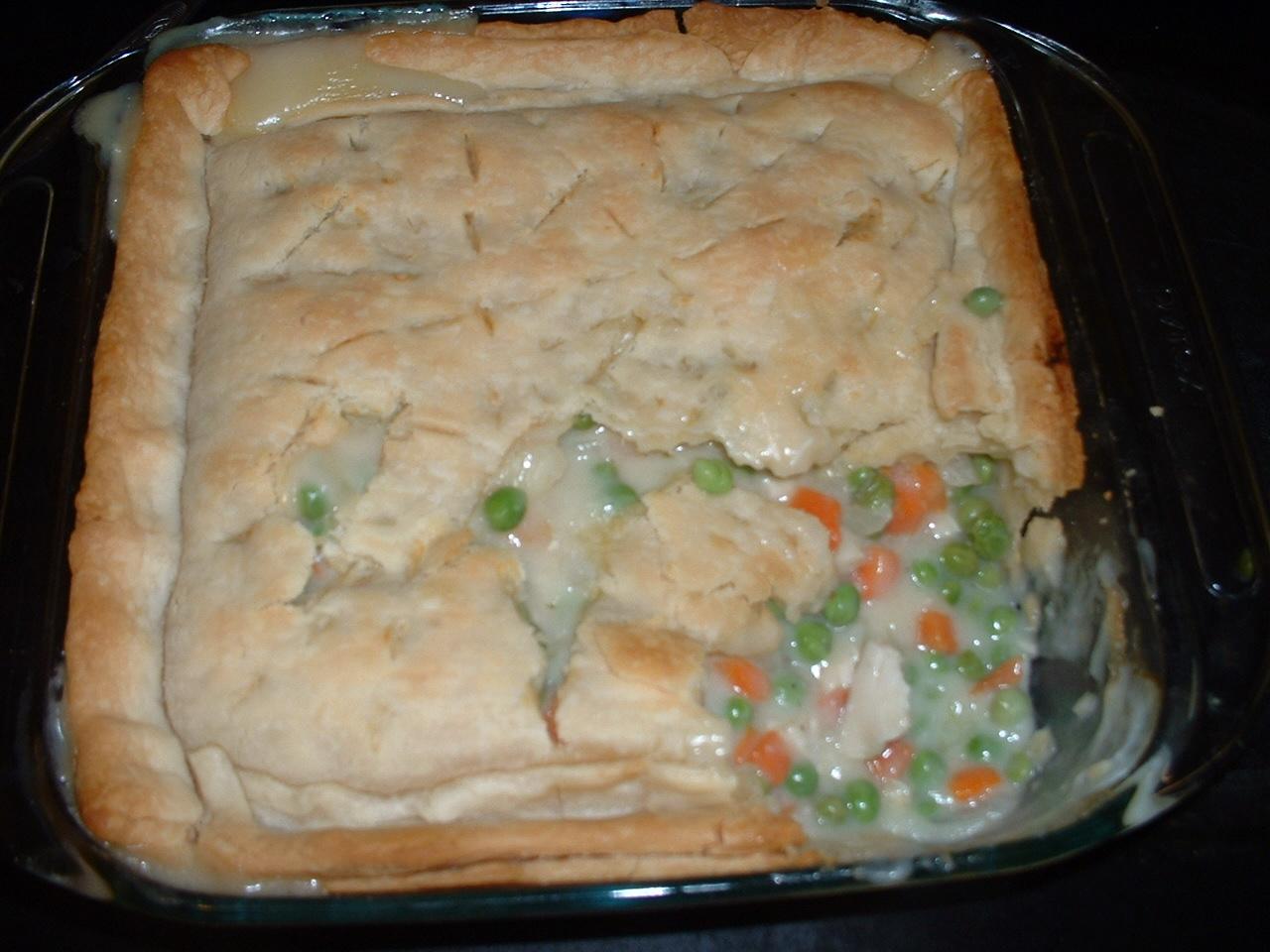 betty crocker chicken pot pie