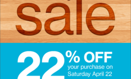 Earth Day Sale at Twin Cities Habitat for Humanity ReStores on Saturday, April 22nd