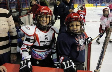 Try Hockey for Free Day is Saturday, February 25th for kids ages 4 to 9