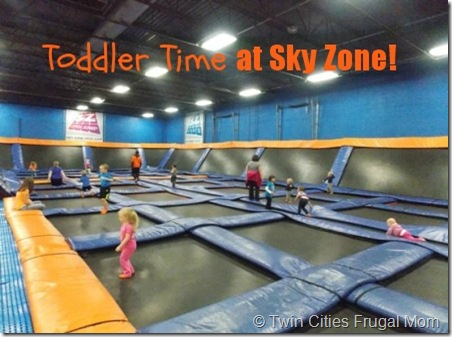 Free Toddler Admission to Sky Zone Trampoline Park in Plymouth – Tuesdays in November