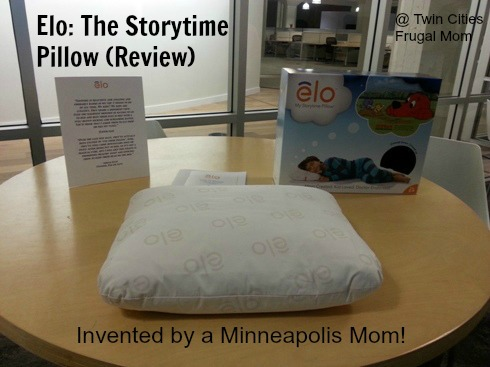 elo the storytime pillow invented by a minneapolis mom review discount twin cities. Black Bedroom Furniture Sets. Home Design Ideas