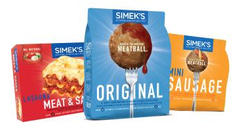 Simek's packaging