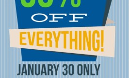 Huge Annual 50% Off Sale at Twin Cities Habitat for Humanity ReStore in New Brighton – Jan 30th