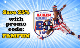 25% off Harlem Globetrotters 90th Anniversary World Tour in Duluth & Minneapolis (March 2016)