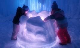 Ice Castles in Eden Prairie's Miller Park 2016