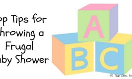 Top Tips for Throwing a Frugal Baby Shower
