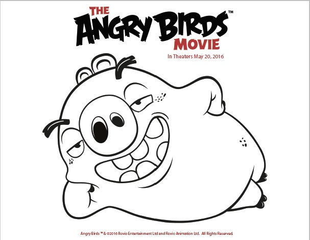 87 Coloring Pages Angry Birds 2