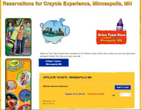 Crayola Experience Discount Admission Tickets. Looking for a fun family attraction to visit? Discover the magic of color at Crayola's premier and one-of-a-kind family attraction Crayola Experience!Twenty-five hands-on attractions throughout four colorful floors await families in Easton, Pa. — the birthplace of Crayola crayons.