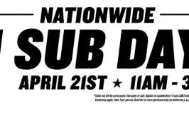$1.00 Subs at Jimmy John's on Thursday, April 21st