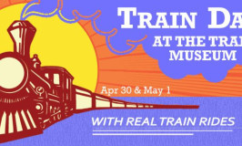 Train Days at the Minnesota Transportation Museum 4/30 & 5/1 and a GIVEAWAY!