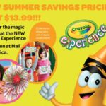 Crayola Experience Summer Savings Special! Tickets only $13.99