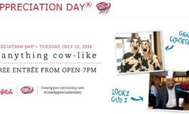Wear Anything Cow-like at Chick-Fil-A & Get FREE Entree on July 12