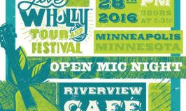 Live Wholly Tour Open Mic Night in Minneapolis Thursday, July 28 (Free Event) #LiveWhollyTour