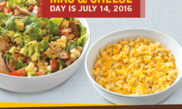 FREE Mac & Cheese with purchase at Noodles & Company – Thursday, July 14