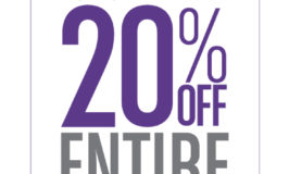 Gordmans Exclusive Friends & Family Days 20% Off Printable Coupon! Valid Aug 18 – 21