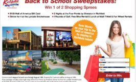 Enter the City of Richfield's Back-to-School Sweepstakes by August 10