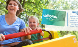 (New!) Free Valleyfair Pre-K Pass for 2017 for Children Ages 3-5!