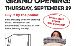 Weigh 'n Save Thrift Clearance Outlet Grand Opening in St. Paul – September 29
