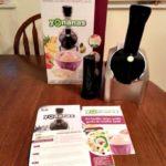 Yonanas Frozen Healthy Dessert Maker Review (& Giveaway)