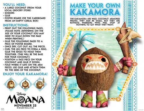 Free Colouring Pages Moana : Free printable moana coloring pages & activity sheets part 2