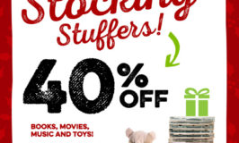 Savers Sale December 16 – 17: Get 40% Off Books, Movies, Music & Toys
