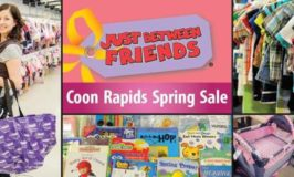 Just Between Friends Coon Rapids Spring Consignment Sale Feb 23 – 26 (Free Admission Ticket for Opening Day)