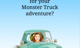 MONSTER TRUCKS Movie Personalized Book Giveaway