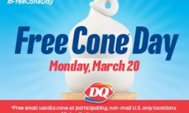 FREE Cone Day at Dairy Queen on March 20th #FreeConeDay