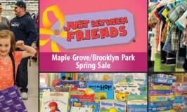 4 Days and 4 Reasons to visit the Just Between Friends Maple Grove Kids Consignment Sale March 16 – 19!