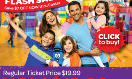 Crayola Experience Mall of America Flash Ticket Sale this Easter Weekend (Tickets only $12.99)