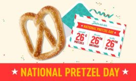 Celebrate Pretzelmaker's® 26th Birthday with 26¢ Pretzels on National Pretzel Day – April 26
