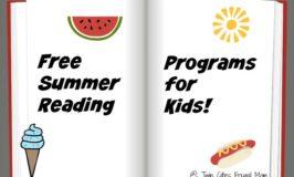 Free Summer Reading Programs for Kids 2017
