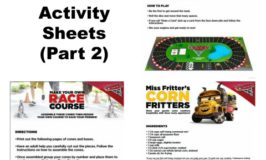 Free Disney's CARS 3 Printable Activity Sheets (Part 2)
