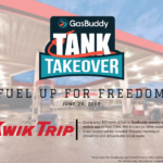 Free Gas in the Twin Cities on Thursday, JUNE 29th