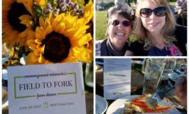 """Field to Fork"" Farm Dinner at Wolf Creek Dairy in Dundas, Minnesota"