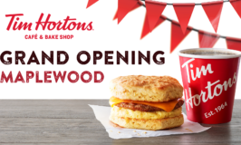 Tim Hortons Smile Cookie Week through 9/22 & Grand Opening Event in Maplewood 9/22-23