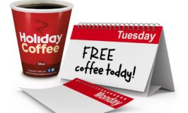 Free Coffee on Tuesdays at Holiday Stationstores through October 10th (No Purchase Required!)