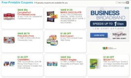 New Printable Grocery Coupons Page