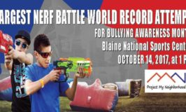 World Record Attempt for Largest Nerf Battle & The Great Pumpkin Giveaway in Blaine – Saturday, October 14